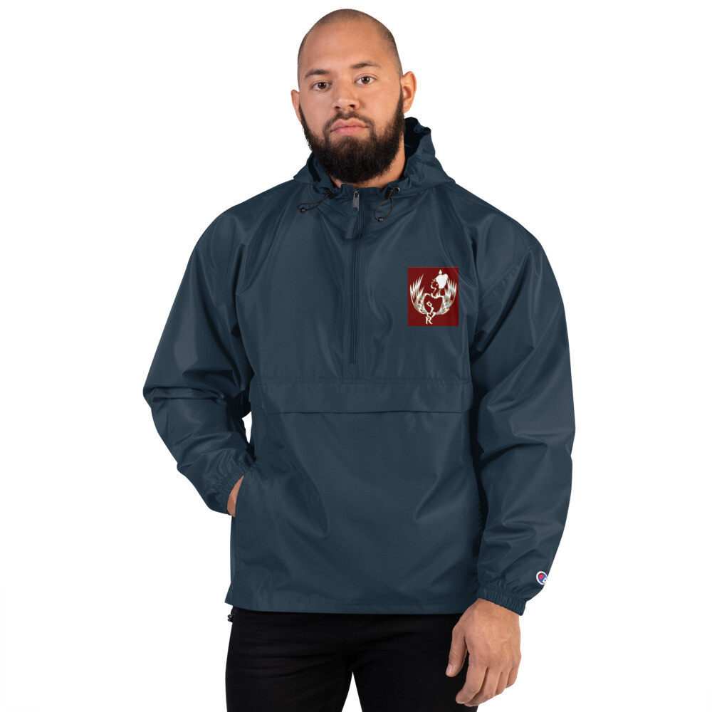 SERIPPY Embroidered Champion Packable Jacket