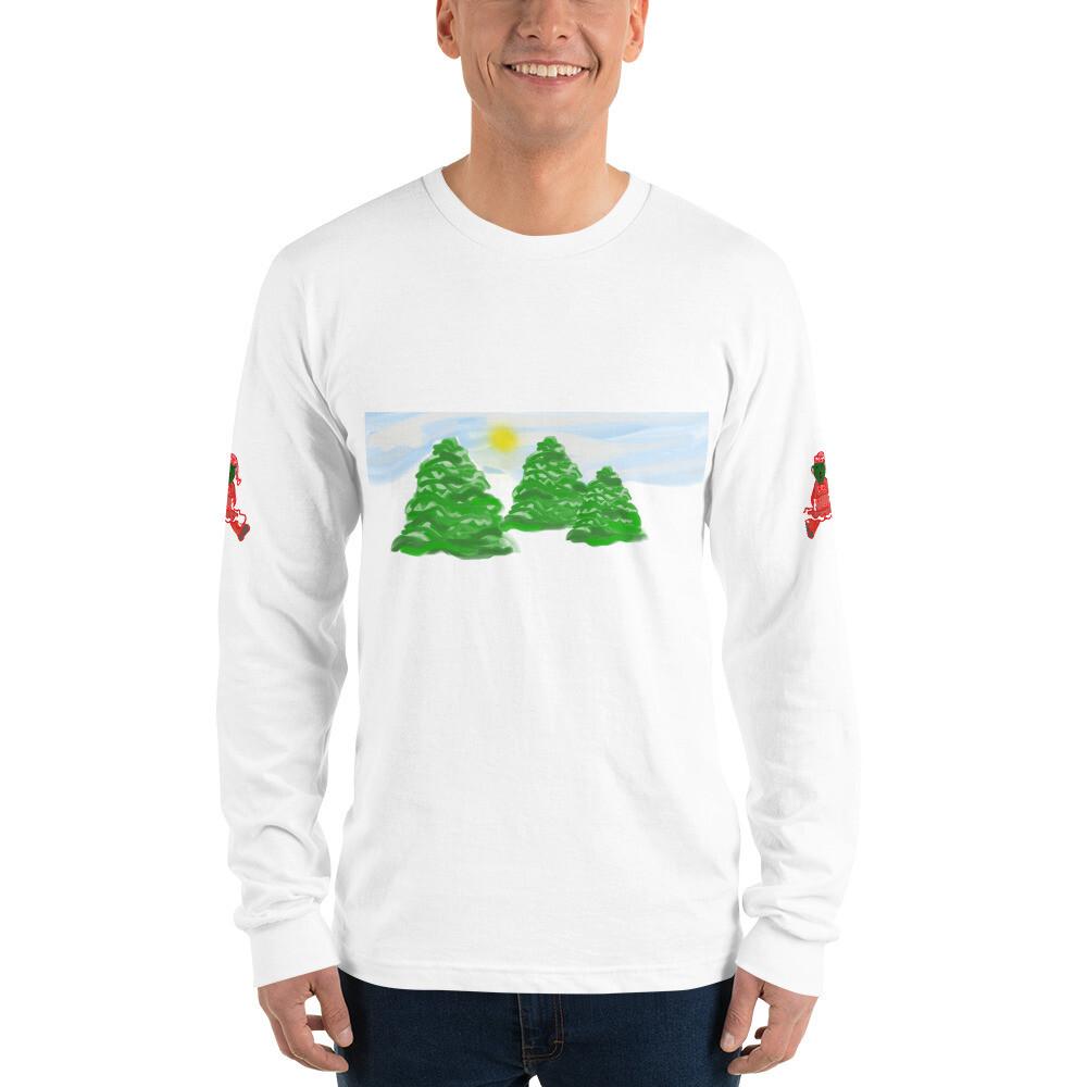 SERIPPY Unisex Long sleeve t-shirt