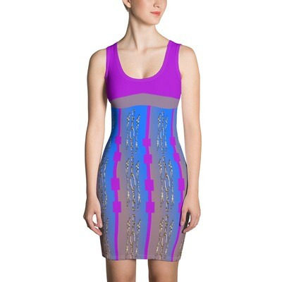 SHERELLE RIPPY Sublimation Cut & Sew Dress