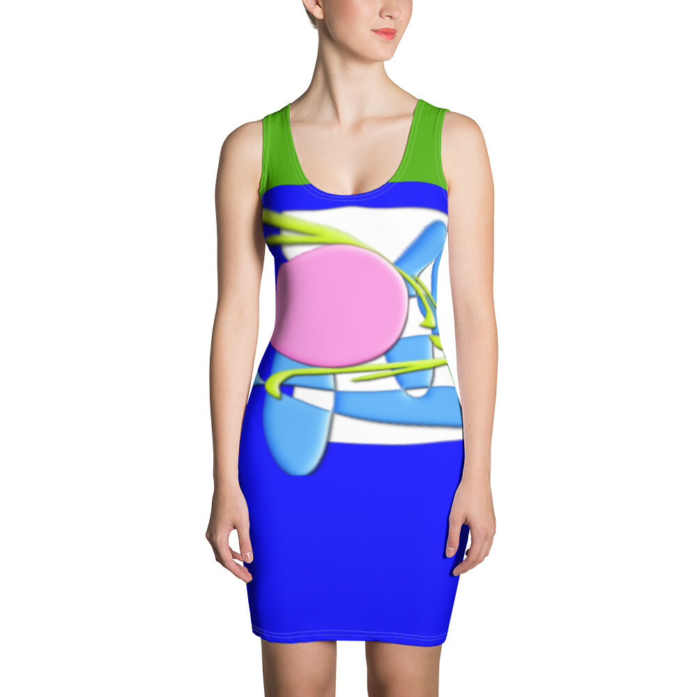 SERIPPY Sublimation Cut & Sew Dress