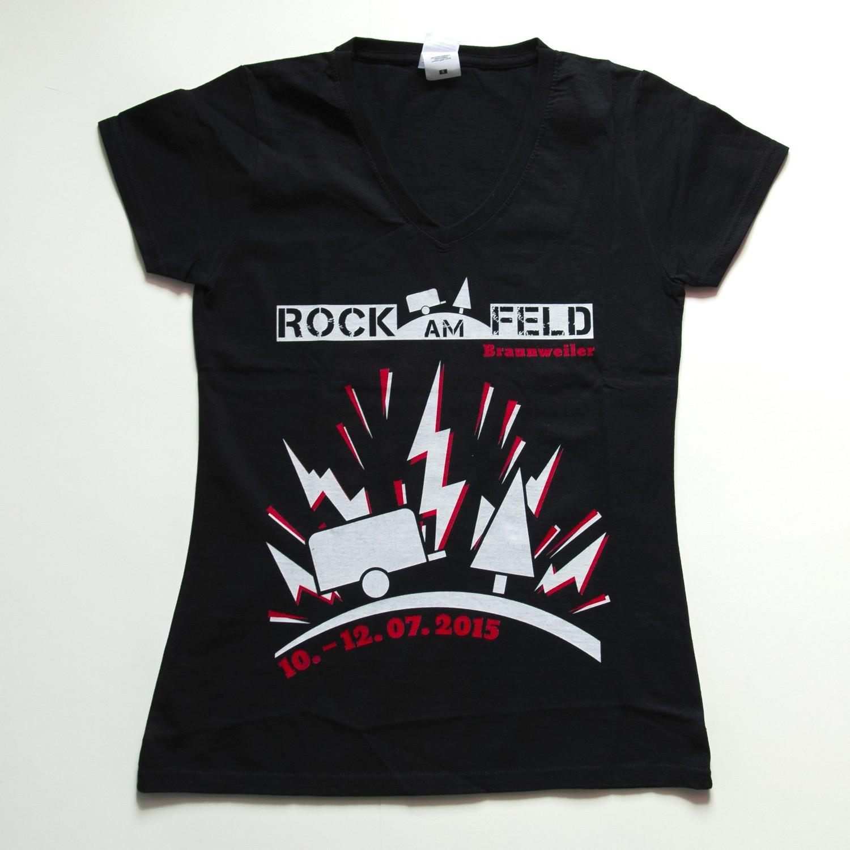 Rock am Feld Damenshirt 2015
