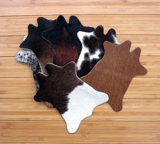 Cowhide Shape Coasters
