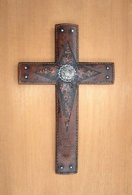 Cross with Flower ~ WRA9792F