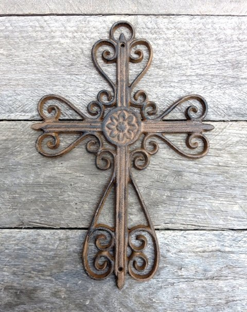 Scroll Cross ~ T6696