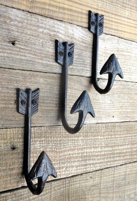 Arrow Hook ~ Set of 3 ~ D54-963