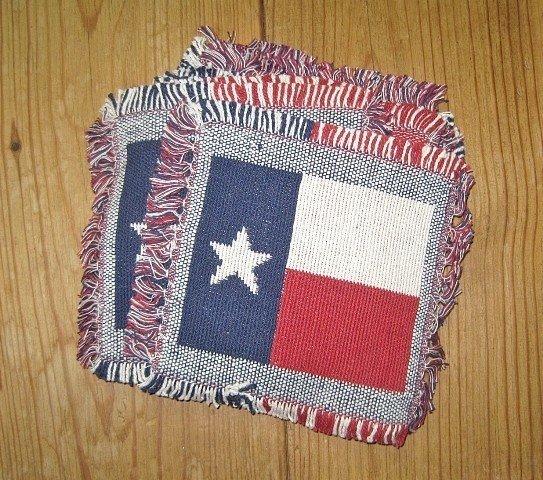 Texas Flag Coasters Set of 4
