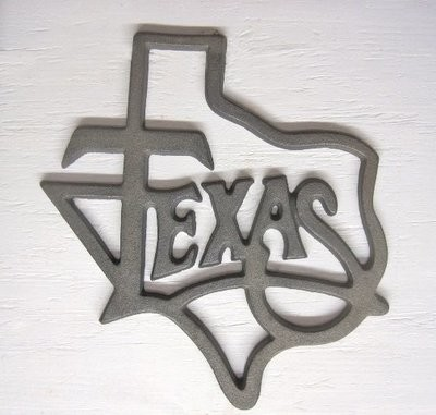 Texas Trivet LG T408