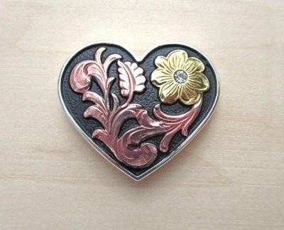 Concho Heart 1 1/2
