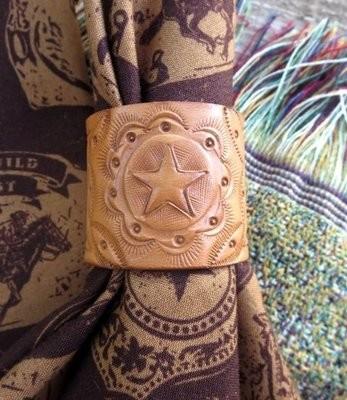 Leather Napkin Rings ~ LNRS15 ~ Set of 4