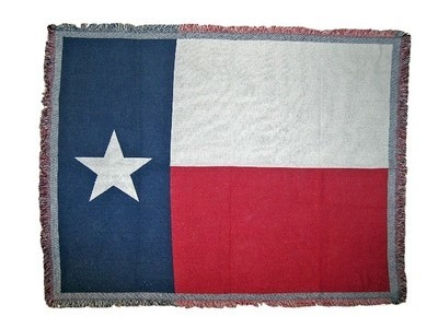 Texas Flag Throw
