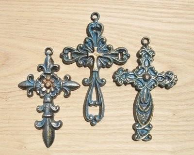 Crosses ~ Set of 3 ~ DRDO1943