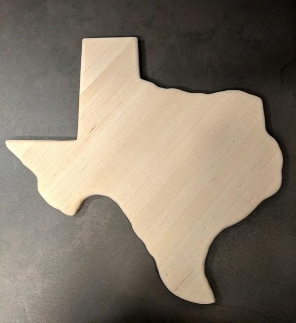 Texas Cutting Board ~ TCB1716