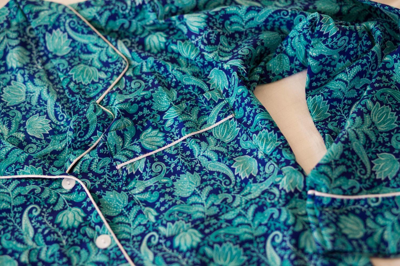 Turquoise India Loungewear Set (S)