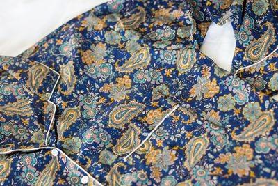 Navy Paisley Loungewear Set (XL)