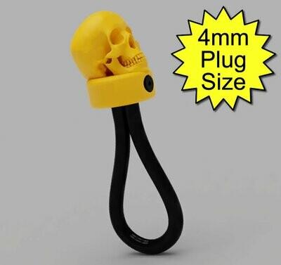 Joannes Skull Monopole 6mm Conductive Rubber Electrode 4mm Plug