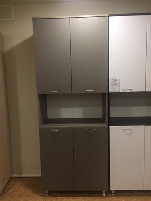 Шкаф для документов с нишей и дверками