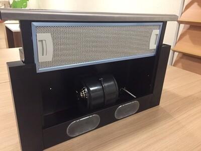 Вытяжка ELIKOR Интегра 60П-400-В2Л черный / нерж