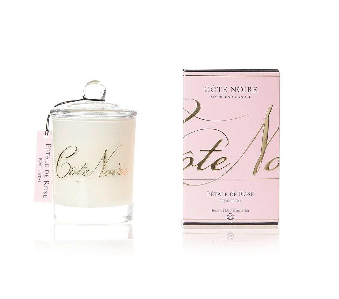 Côte Noire 185g Soy Blend Candle - Rose Petal