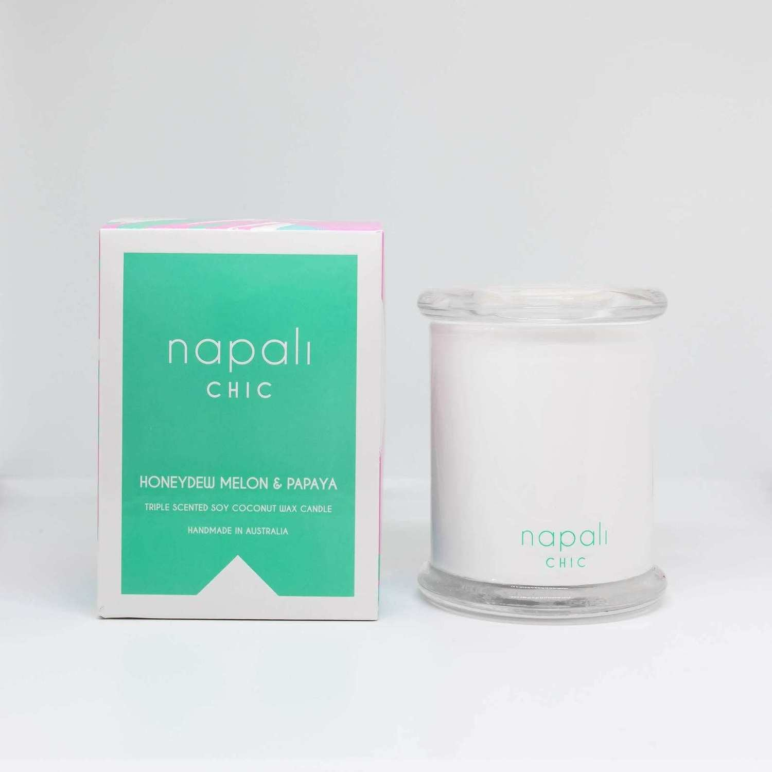Napali Chic Candle 300g (Honeydew Melon & Papaya)