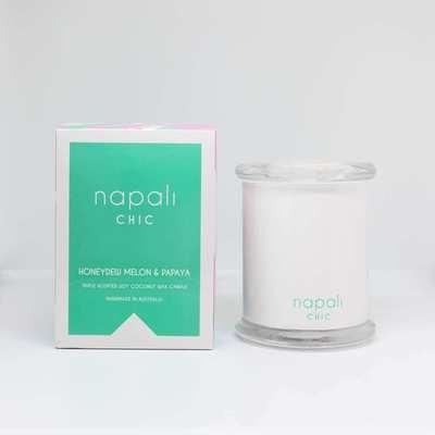 Napali Chic Candle 300g (Honeydew Melon & Papaya)