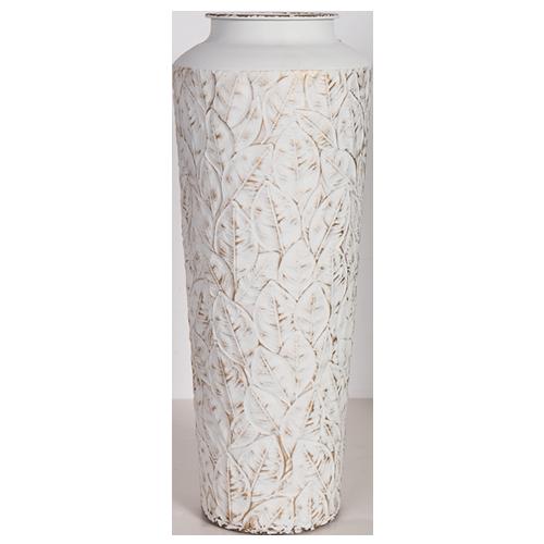Decorative Metal Vase - Tall 56cm