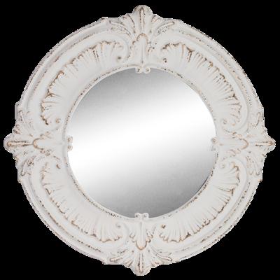 Pressed Metal Round Mirror 98cm