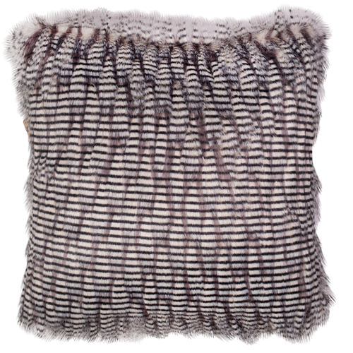 Faux Fur Cushion with Insert