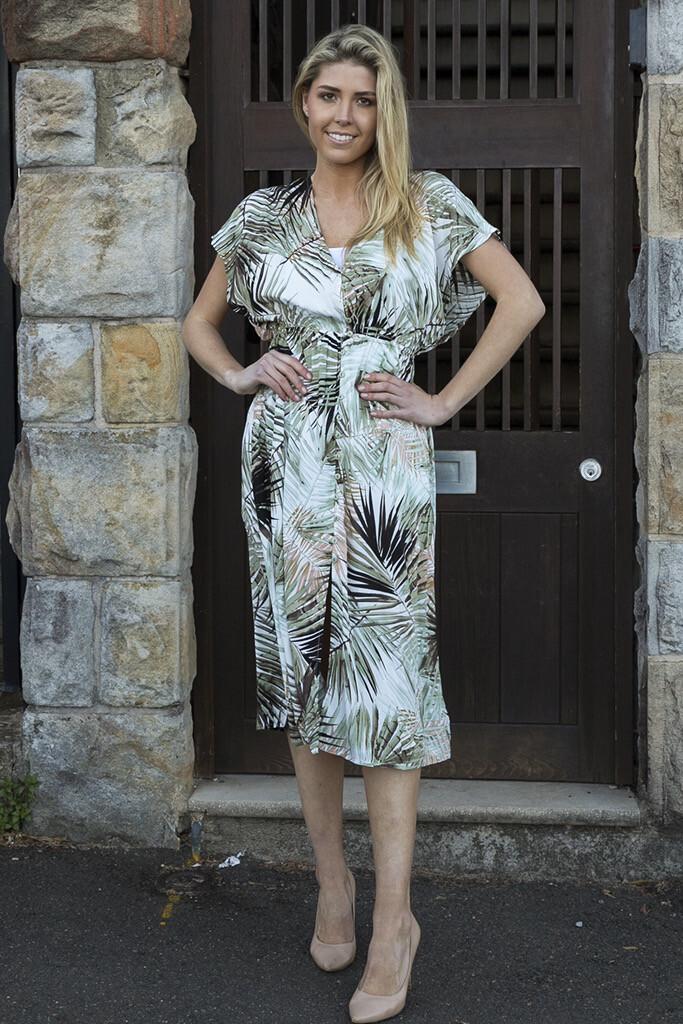 Lina Midi Dress