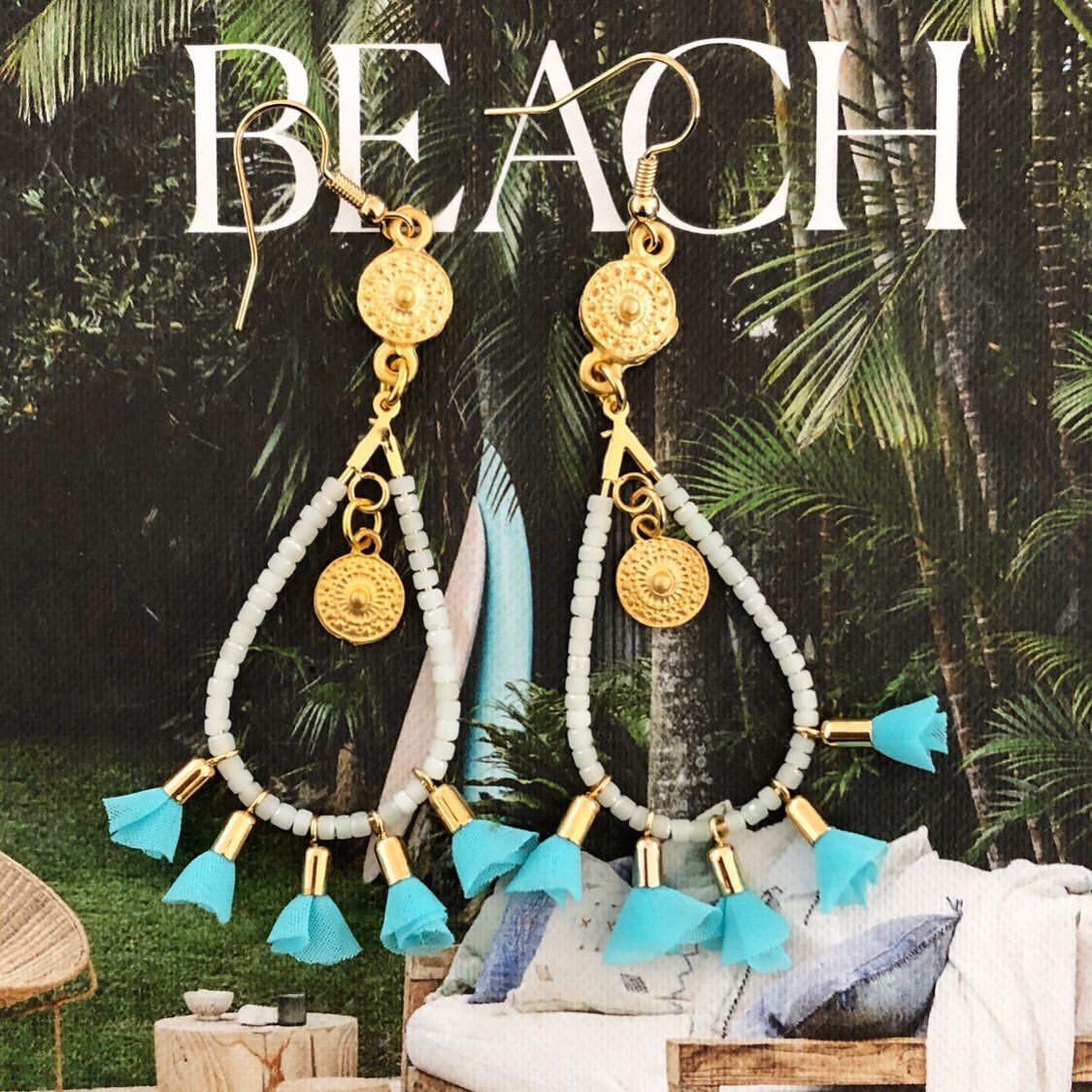 Lilly Aquamarine Earrings