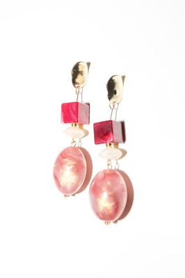 Susie Pink Earrings