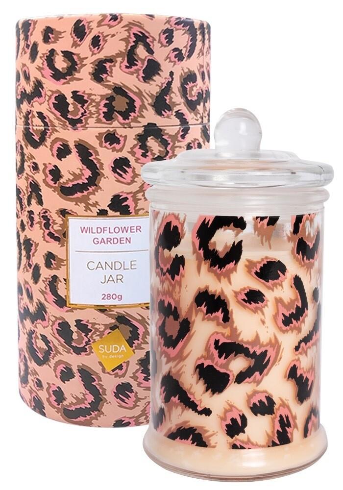 Candle Wildflower Soy Jar