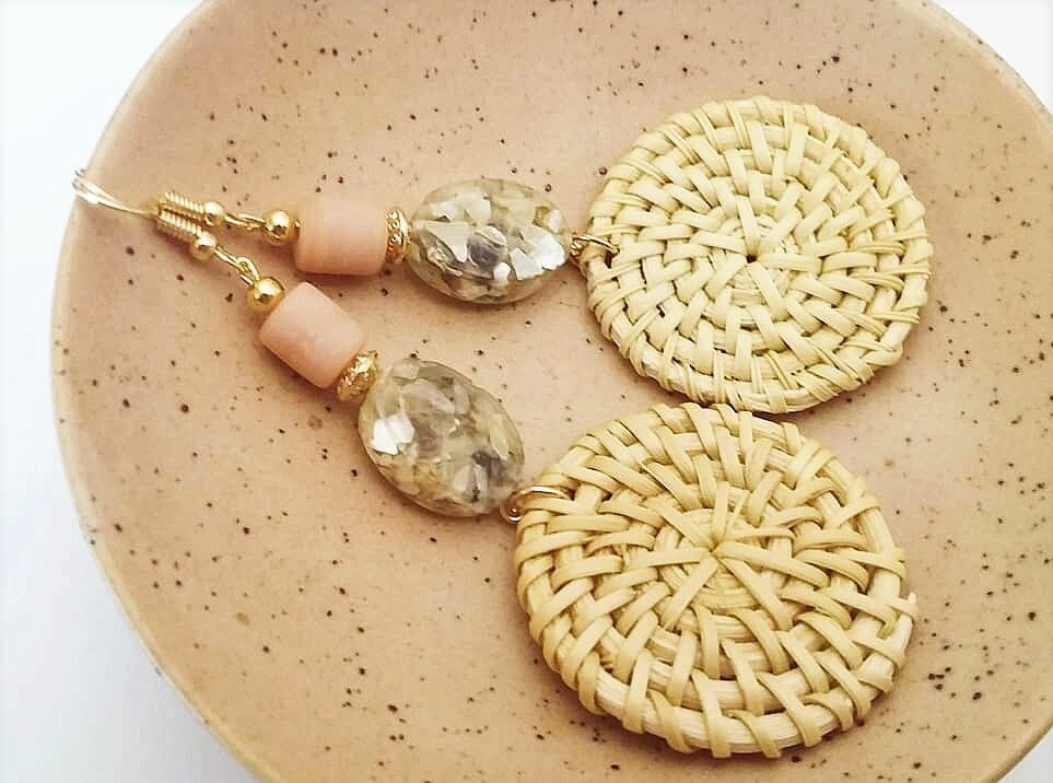 Azra Rattan Earrings