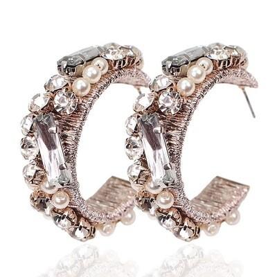 Carly Hoop Earrings