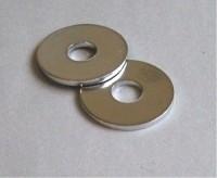 WASHER-CHROME-DOOR LATCH STRIKER PIN-PAIR-68-82 (#E15375) 5A2