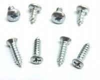 SCREW SET-SHOULDER HARNESS SEAT KIT-8 PIECES-70-75 (#E18029) 5A4