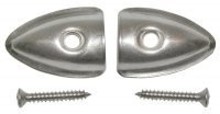 TIP SET-CONVERTIBLE-SOFT TOP-WIRE ON-ORIGINAL CHROME-PAIR-53-75 (#E2846)