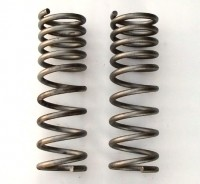 SPRINGS-FRONT COIL-SMALL BLOCK-AUTOMATIC W/OUT AC-4 SPEED ALL-PAIR-68-74 (#E8096)566.4