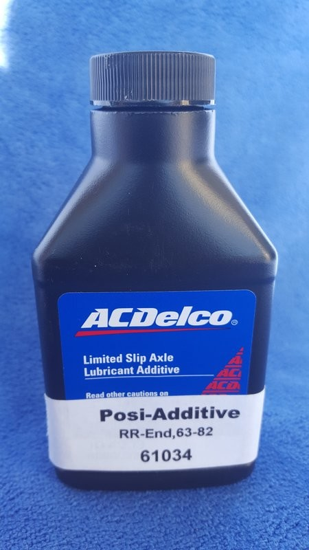 LUBE ADDITIVE-REAR END GEAR-GM POSITRACTION-4 OZ.-EACH-53-96 (#61034)  1E3