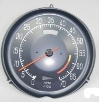 TACHOMETER-ASSMEBLY WITH 6000 RED LINE-L-82-75-77 (#E14708)