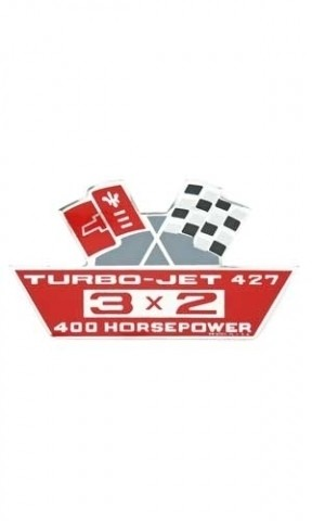 DECAL-AIR CLEANER-427-400 HP-67-69 (#13007) 5C3