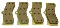 PAD SET-DISC BRAKE-AXLE SET (4 PADS )-65-82 (#E1800)  3B6