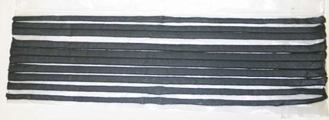 CAULK-SEAM-BODY-DOOR-WINDSHIELD-10-1 FOOT LONG STRIPS-10 PIECES-53-82 (#E13801) 3C4