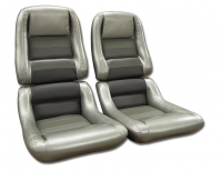 COVER-SEAT-100% LEATHER-MOUNTED ON FOAM-2 INCH BOLSTER-COLLECTOR EDITION-82 (#E19618)