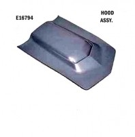 HOOD-ASSEMBLY-L-88-HAND LAYUP-(68-72 & 73-76 (LONG HOOD) WITHOUT COLD AIR CHAMBER- (#E16794)
