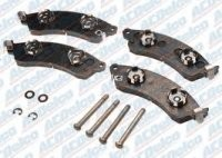 PAD SET-BRAKE-FRONT-AC DELCO-88-96 (#4684) 3B5