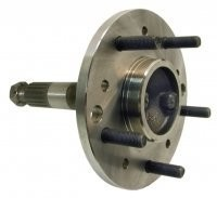 SPINDLE-REAR WHEEL WITH DRUM BRAKES-63-65 (#E6604)