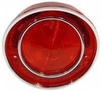 LENS-TAIL LAMP-RED-USA-EACH-68-69 (#E5760)