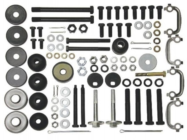 SUSPENSION KIT-REAR MOUNTING-69-77 (#E7736) 2D4