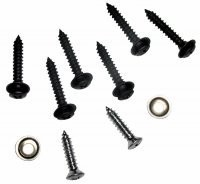 SCREW SET-DASH PAD AND STEERING COLUMN COVER-10 PIECES-68-77 (#E10348)