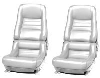COVER-SEAT-100% LEATHER-4 INCH BOLSTER-78 PACE-79-82 (#E6978)